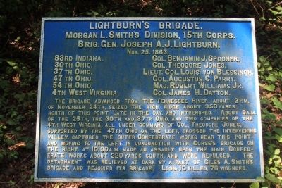 Lightburn's Brigade Marker image. Click for full size.