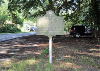 Harrison Family Cemetery Marker image. Click for full size.