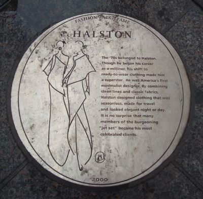 Halston Marker image. Click for full size.