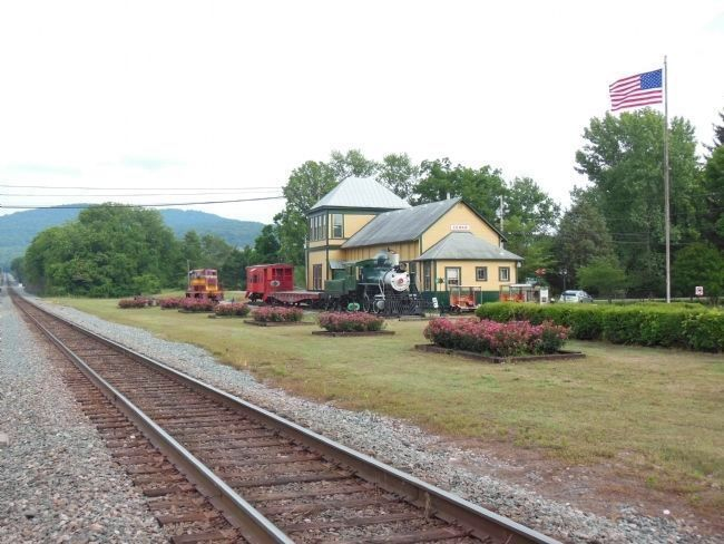 Cowan Railroad Depot Museum image. Click for full size.