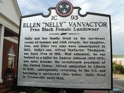 "Ellen ""Nelly"" VanVactor Marker image. Click for full size."