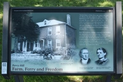 Ferry Hill Marker image. Click for full size.