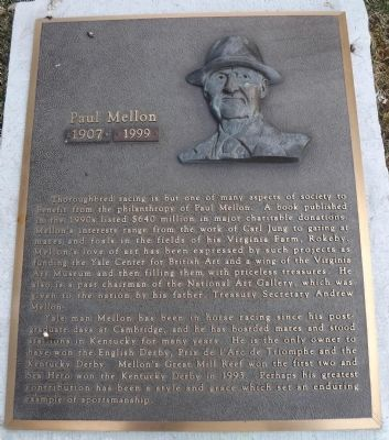 Paul Mellon Marker image. Click for full size.
