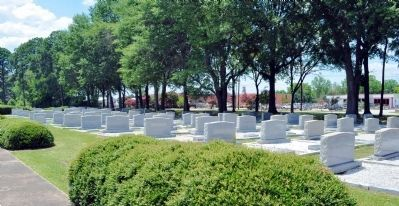 Congregation Shearith Israel Section of Cemetery image. Click for full size.