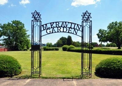The Wrought Iron Gate, Entrance to the M. Kravtin Garden image. Click for full size.
