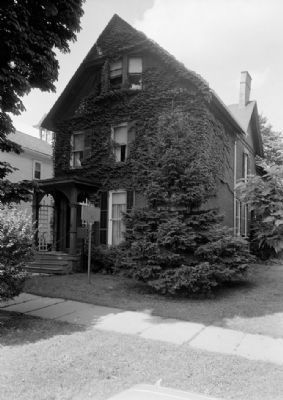 Susan B. Anthony House (1967) image. Click for full size.