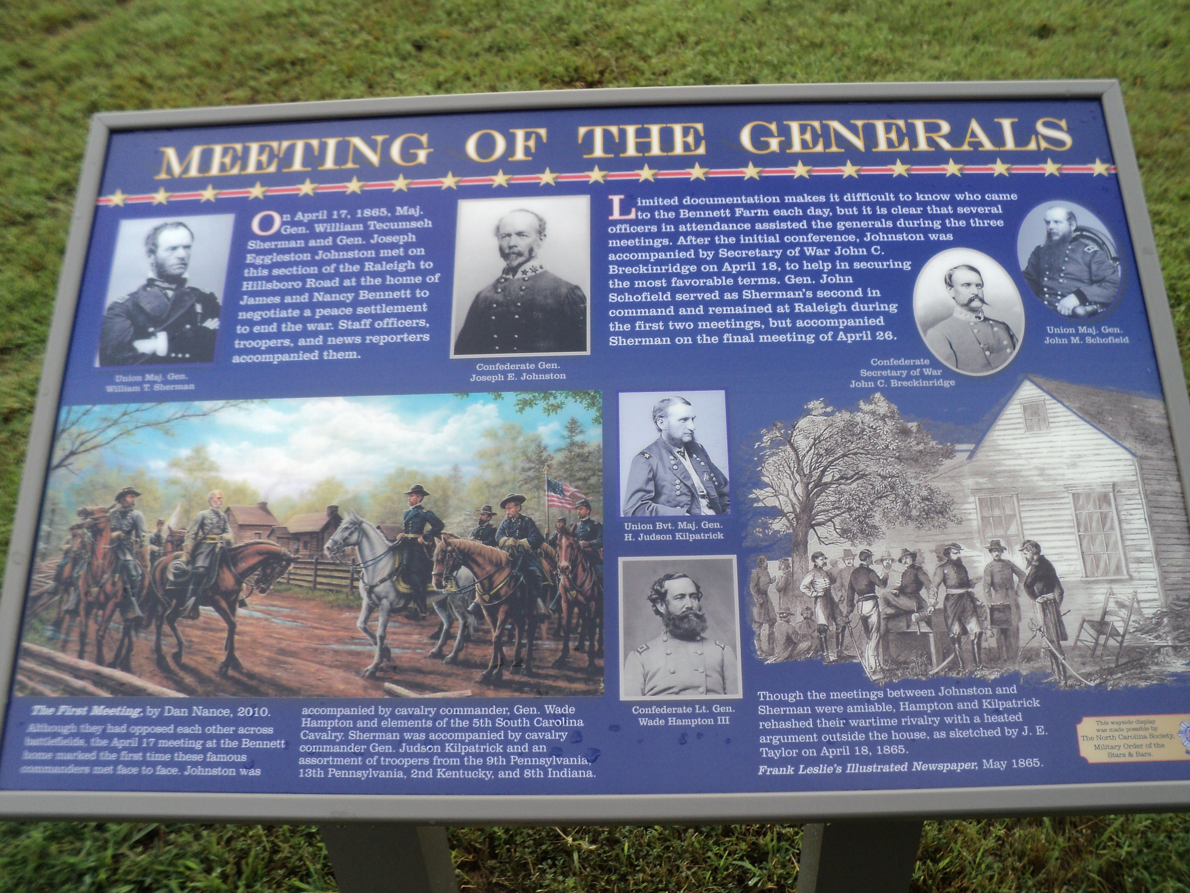 Meeting of the Generals Marker