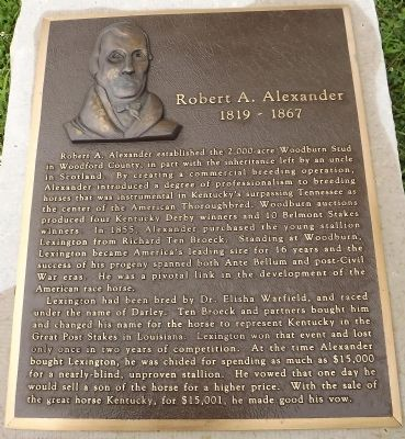 Robert A. Alexander Marker image. Click for full size.