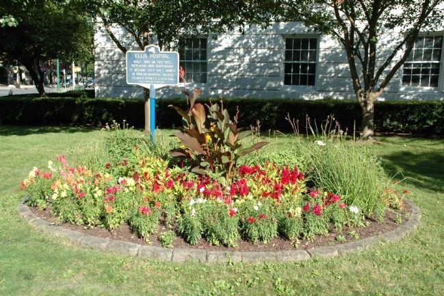 Ellis Hospital Marker image. Click for full size.