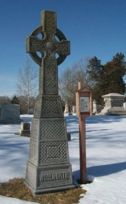 James M. Woolworth Grave Site & Marker image. Click for full size.