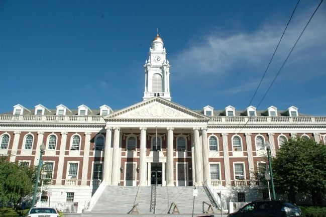 Schenectady City Hall image. Click for full size.
