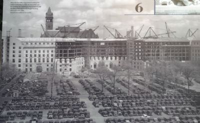 Post Office Department Building Construction image. Click for full size.