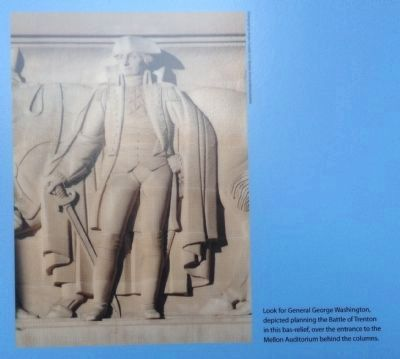 General George Washsington bas-relief image. Click for full size.