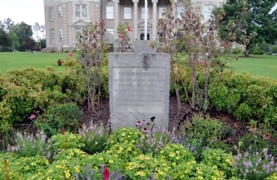 To Commemorate the Site of the First Permanent Capitol of Georgia Marker image. Click for full size.