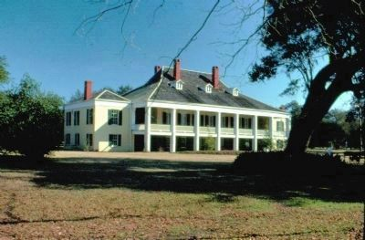 Destrehan Manor House in 1979 image. Click for full size.