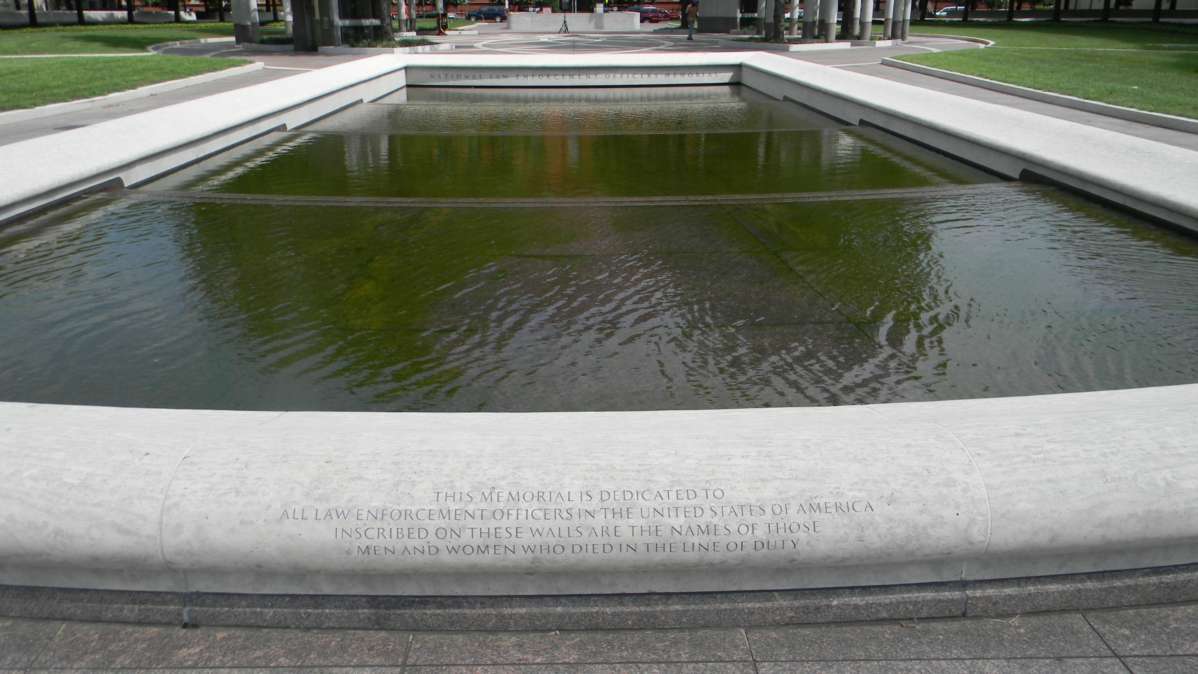 View of the Memorial