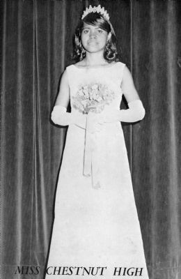Miss Chestnut - 1970<br>(last graduating class) image. Click for full size.