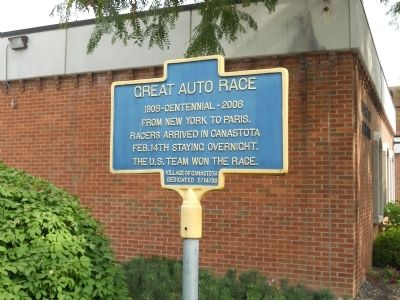 Great Auto Race Marker image. Click for full size.