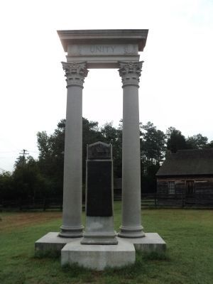 Unity Monument image. Click for full size.