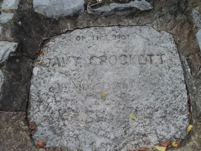 Davy Crockett's Birthplace Marker image. Click for full size.