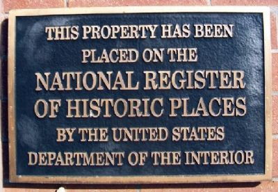Richards & Conover Hdw Co Bldg National Register Marker image. Click for full size.