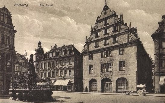 The Old Tollhouse / <i>Alte Mauth</i> - postcard view image. Click for full size.