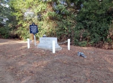 Long View - - Burial Ground Fort William Harrison Marker image. Click for full size.