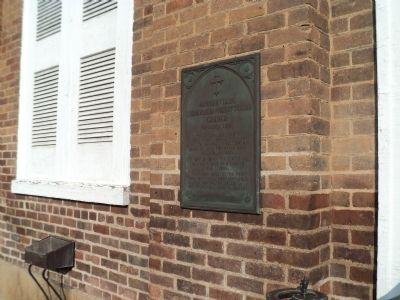 Greenville Cumberland Presbyterian Church Marker image. Click for full size.