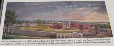 The Flagstaff Marker image. Click for full size.