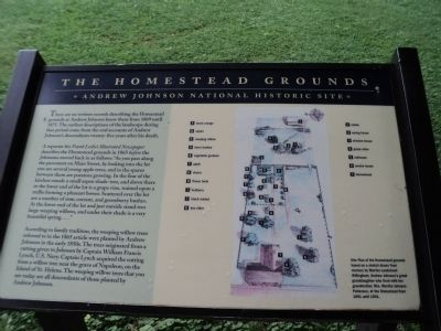 The Homestead Grounds Marker image. Click for full size.