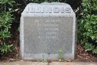 96th Illinois Marker image. Click for full size.