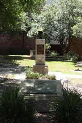 Duval County Vietnam Memorial and Veterans Eternal Flame Marker image. Click for full size.