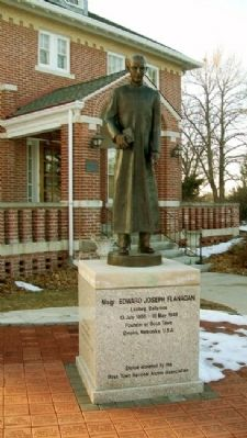 Msgr. Edward Joseph Flanagan Statue image. Click for full size.