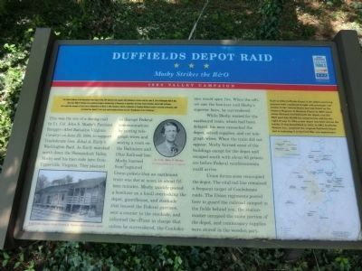 Duffields Depot Raid Marker image. Click for full size.
