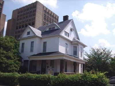 Eugene Debs Home (Museum) image. Click for full size.