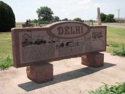 Delhi Marker (front) image. Click for full size.