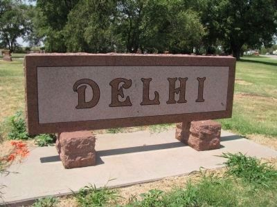 Delhi Marker image. Click for full size.