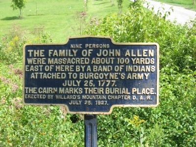 TheFamily of John Allen Marker image. Click for full size.