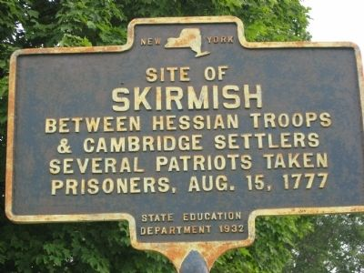 Site of Skirmish Marker image. Click for full size.