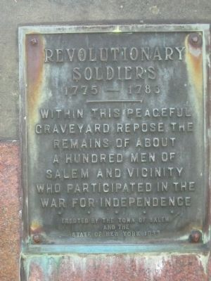 Revolutionary Cemetery image. Click for full size.