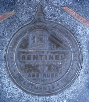 The Sentinel Building Marker image. Click for full size.