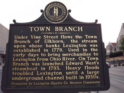 Town Branch Marker image. Click for full size.