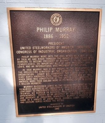 Philip Murray Marker image. Click for full size.