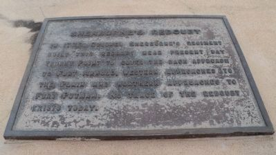 Sherburne's Redoubt Marker image. Click for full size.