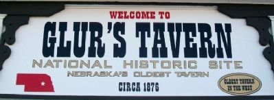 Glur's Tavern Marker image. Click for full size.