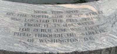 Washington City Spring Marker image. Click for full size.