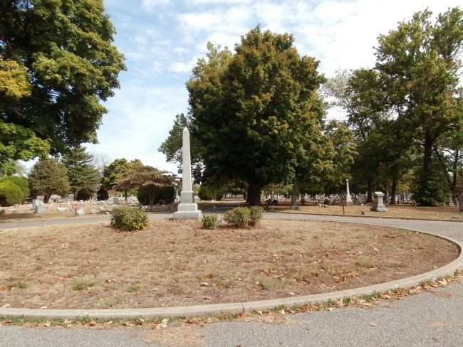 Obverse View - - Confederate Soldiers Buried in this Cemetery Marker image. Click for full size.