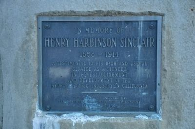 Henry Harbinson Sinclair Marker image. Click for full size.