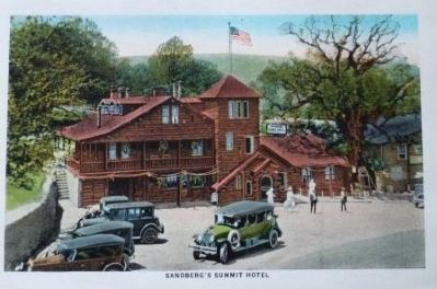 Sandberg's Summit Hotel image. Click for full size.