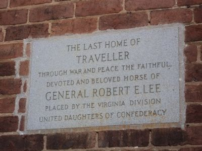 Last Home of Traveller Marker image. Click for full size.